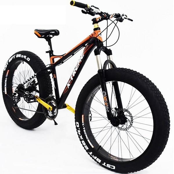 """Fatbike X-Treme 26"""" neljän tuuman renkailla"""